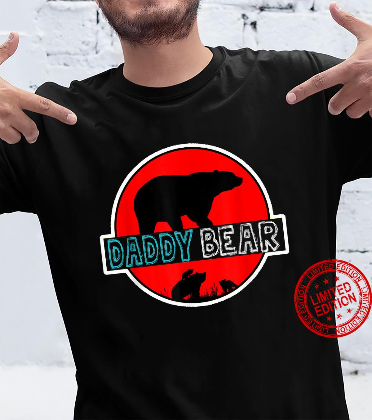 Awesome Daddy Bear For Family Matching Shirt