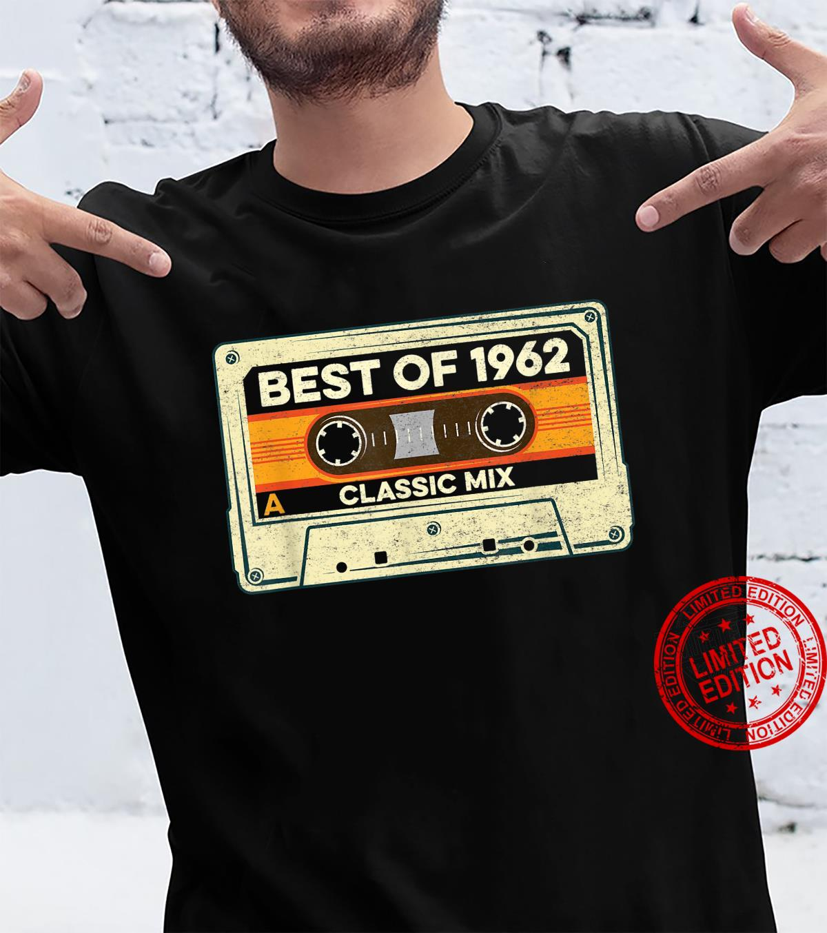 Best of 1962 Cassette Tape Retro 59 Years Old 59th Birthday Shirt
