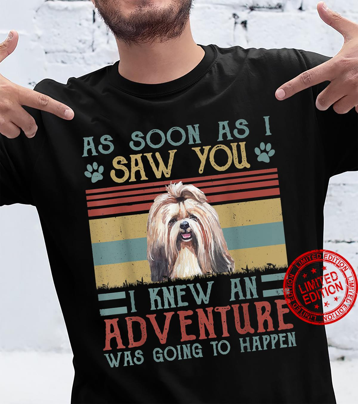 Dogs As Soon As I Saw You Shih Tzu Shirt