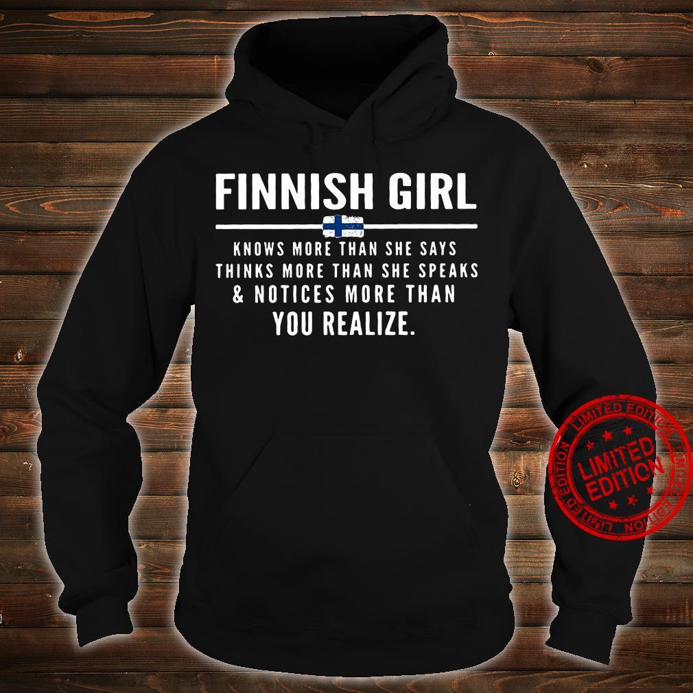 Finnish Girl Shirt hoodie
