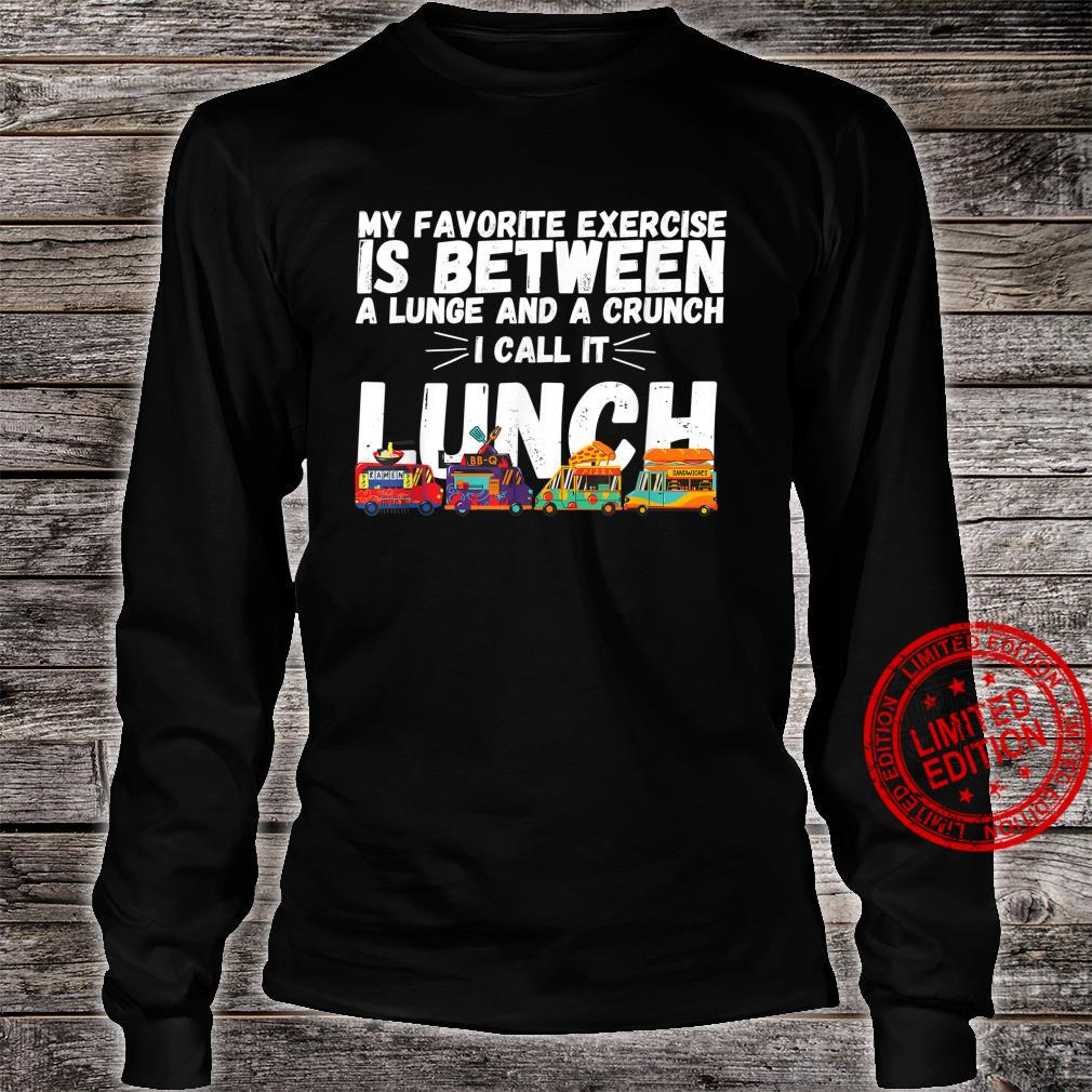 Funny Exercise Fitness Quote My Favorite Exercise Gym Shirt long sleeved