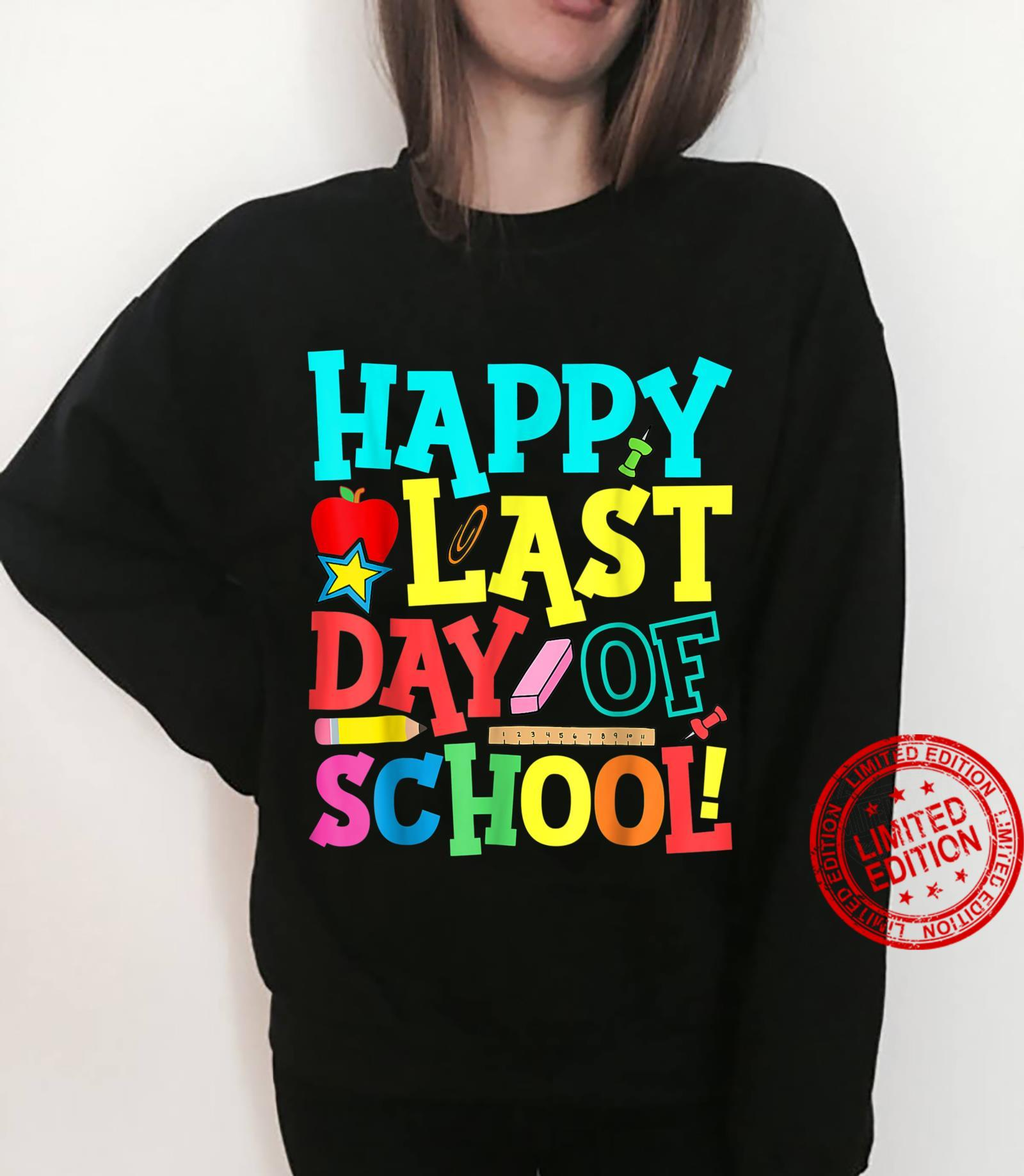 Happy Last Day Of School Teacher Boys Girls Shirt sweater