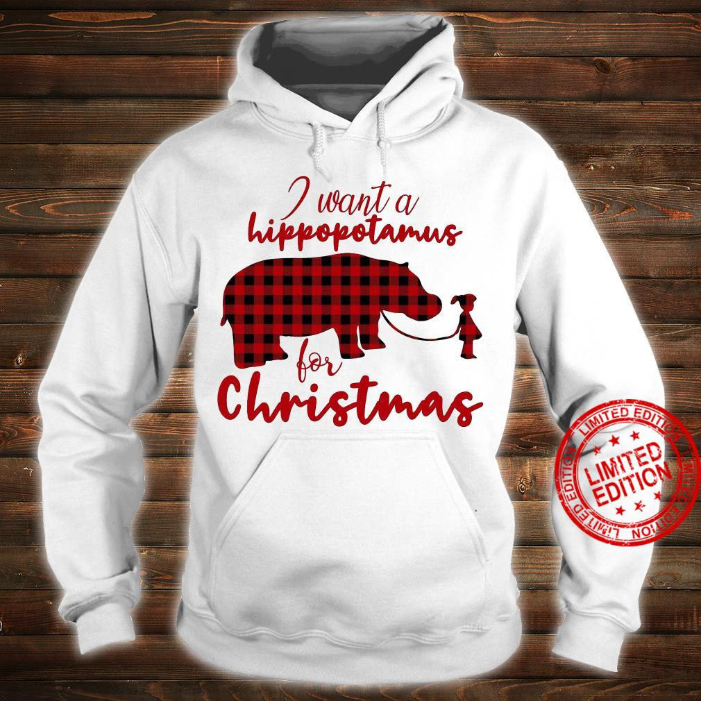 I Want A Hippopotamus For Christmas Hoodie hoodie