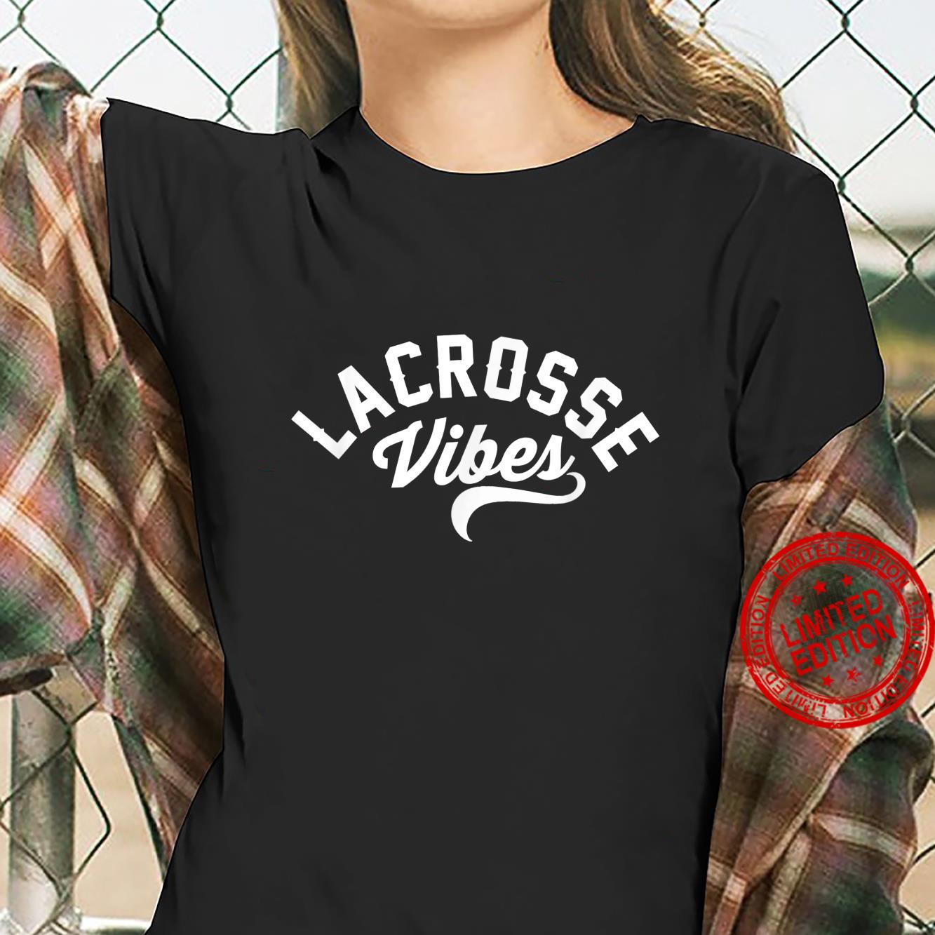 Lacrosse Vibes Ready for Gameday Lax Shirt ladies tee