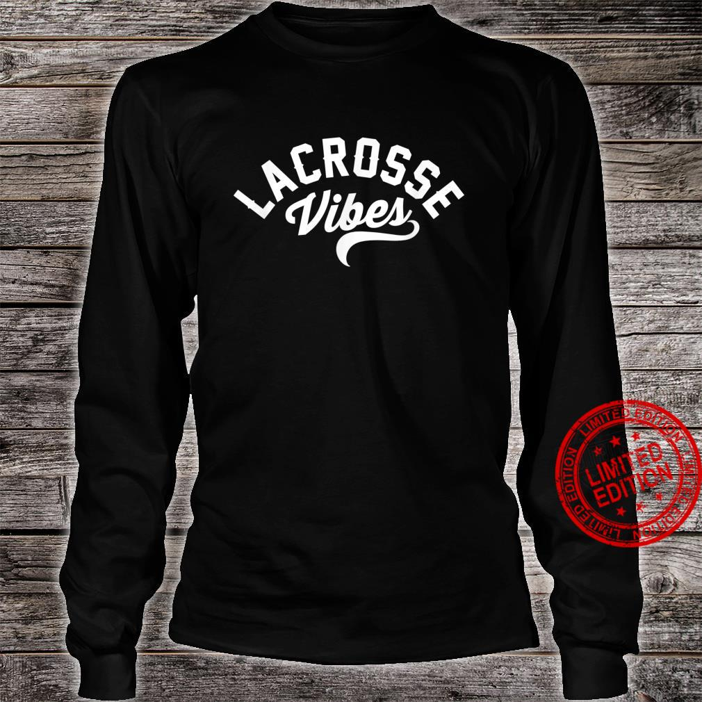 Lacrosse Vibes Ready for Gameday Lax Shirt long sleeved