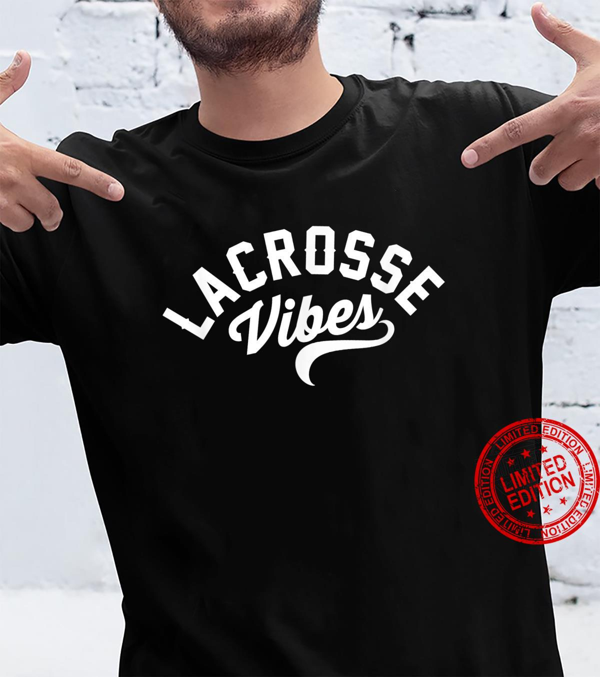 Lacrosse Vibes Ready for Gameday Lax Shirt