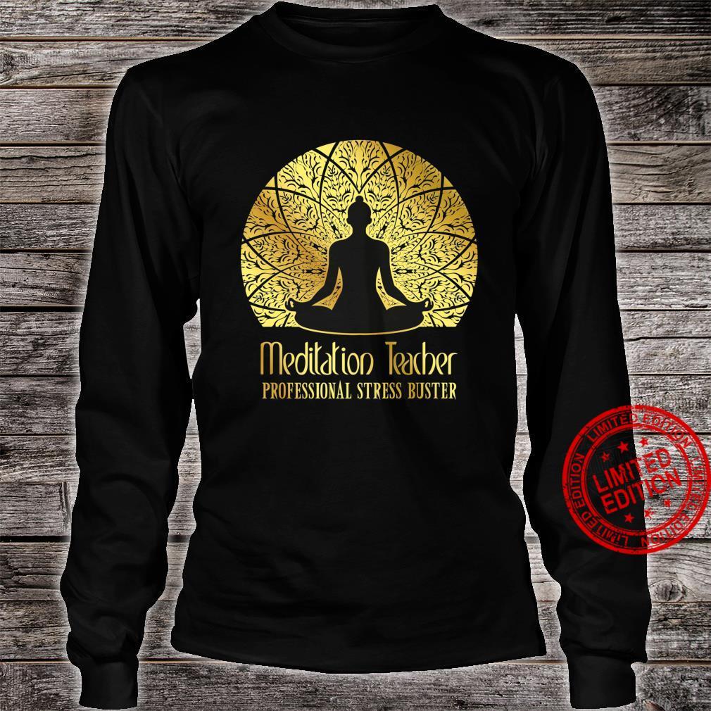 Meditation Teacher Shirt long sleeved