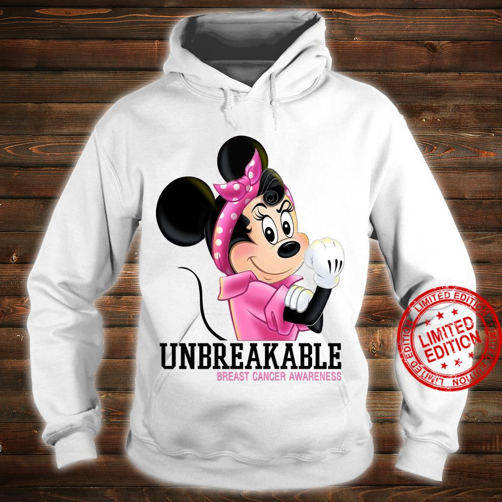 Mikey Unbreakable Breast Cancer Awareness Shirt hoodie