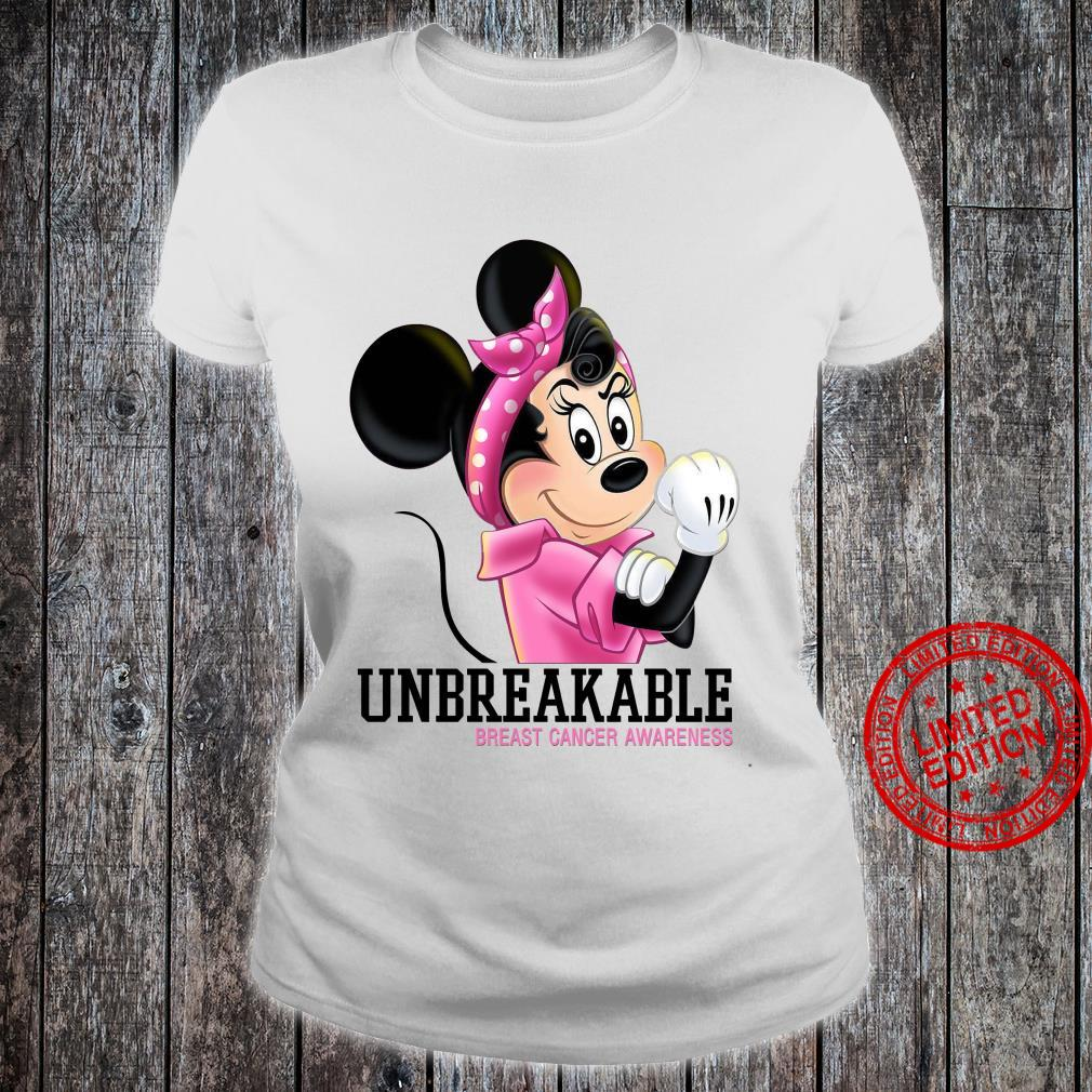 Mikey Unbreakable Breast Cancer Awareness Shirt ladies tee