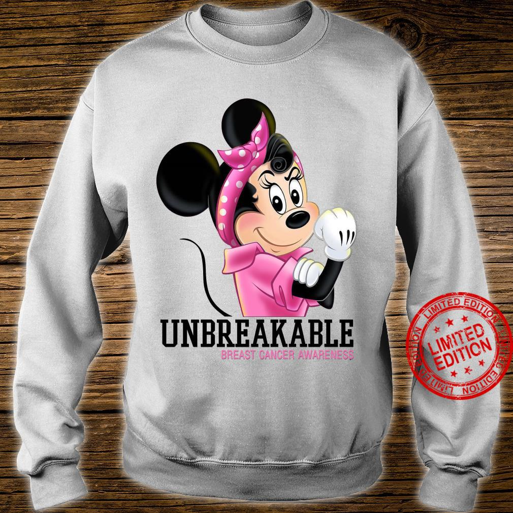 Mikey Unbreakable Breast Cancer Awareness Shirt sweater