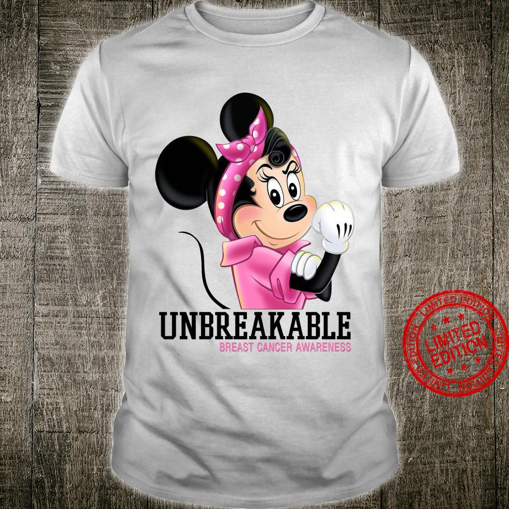 Mikey Unbreakable Breast Cancer Awareness Shirt