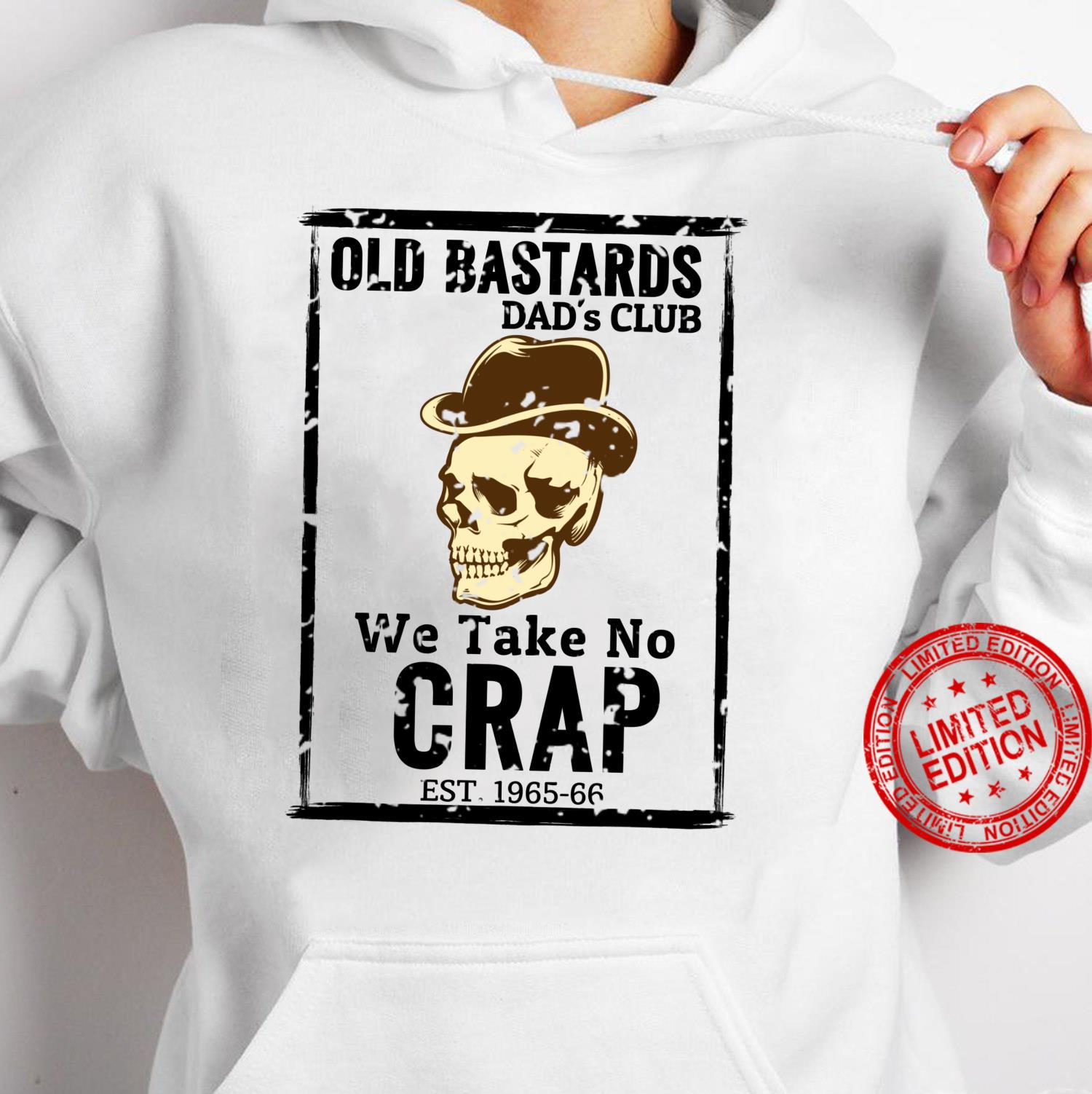 Old Dad Club Shirt hoodie