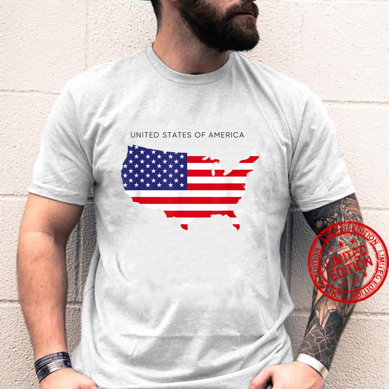 United States Of America Flag Novelty Cool Designs Shirt