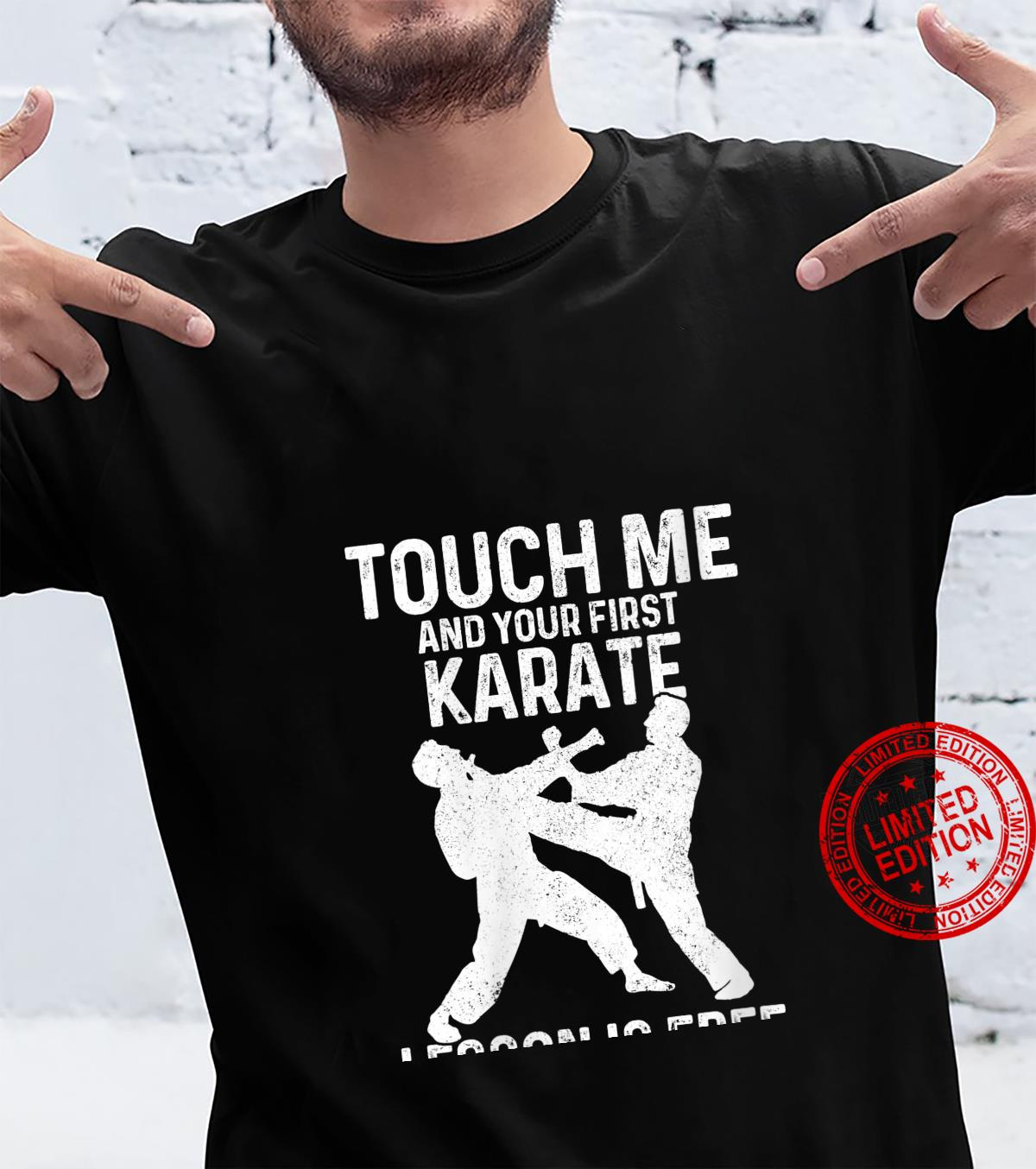 Womens Karate Your First Lesson Is Free Martial Arts Artist Shirt