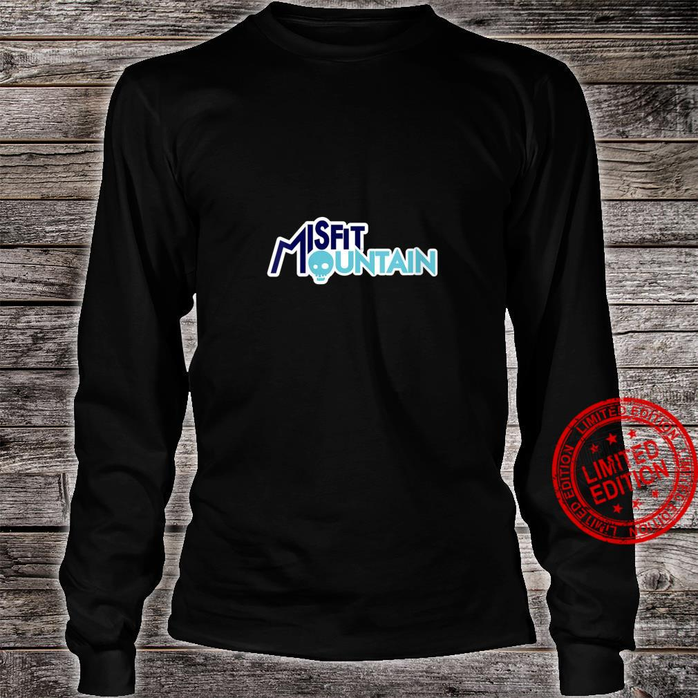 Womens Misfit Mountain Branded Shirt long sleeved