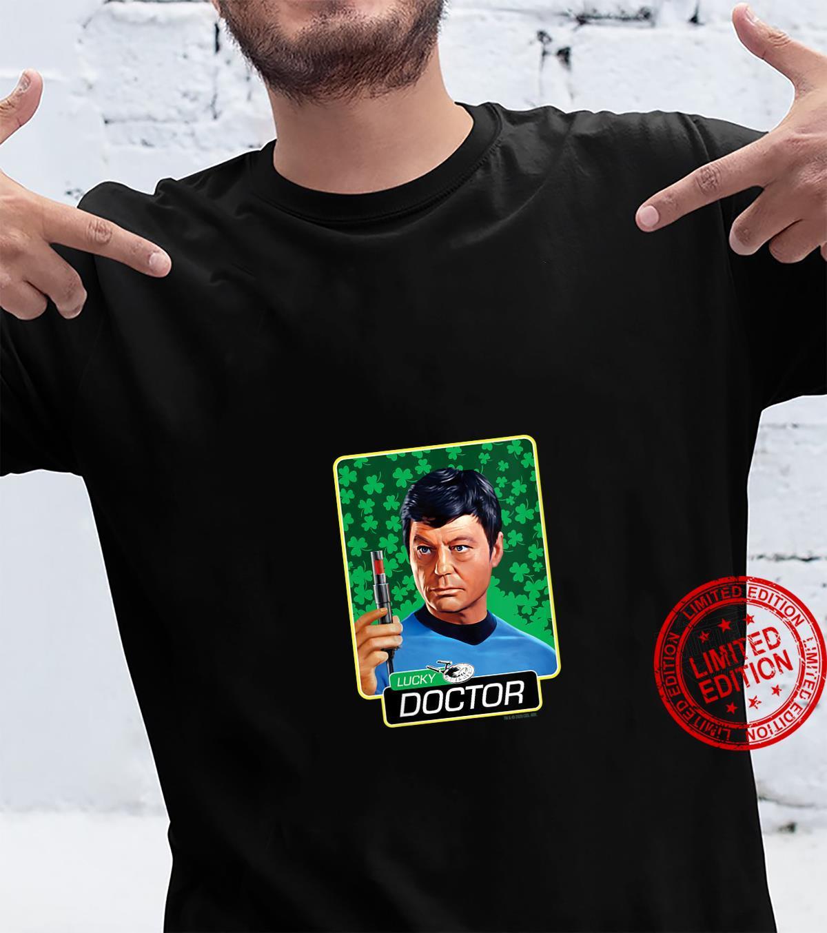 Womens Star Trek The Original Series Lucky Doctor Shirt