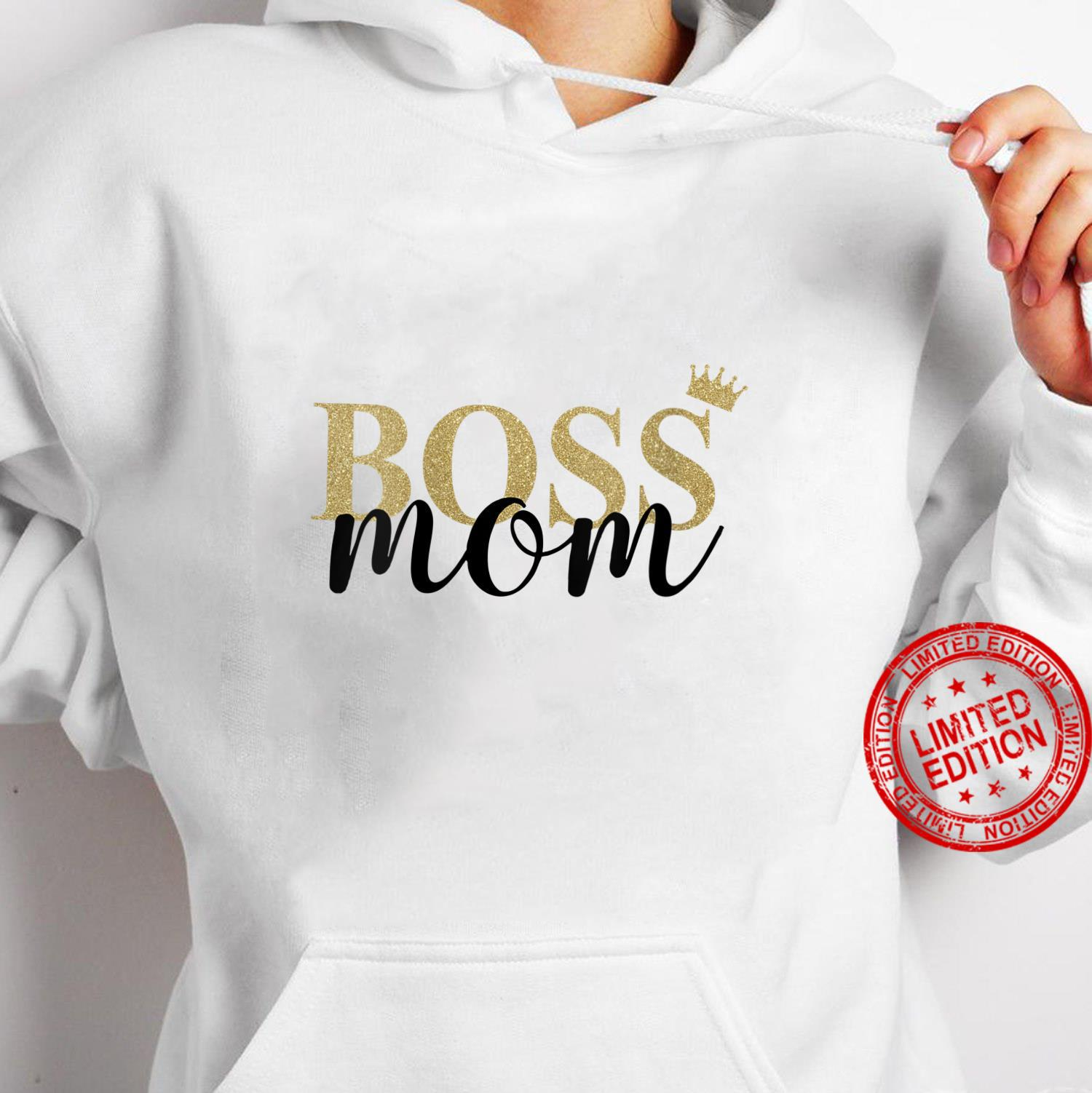 Womens Wife Mom Boss Mothers Day Idea for Blessed Mommy Mama Momma Shirt hoodie