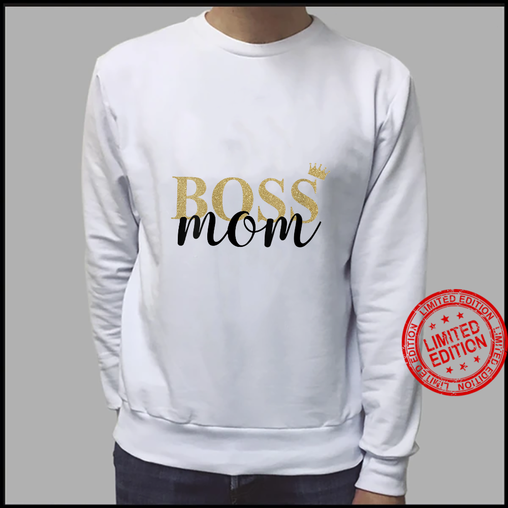 Womens Wife Mom Boss Mothers Day Idea for Blessed Mommy Mama Momma Shirt sweater