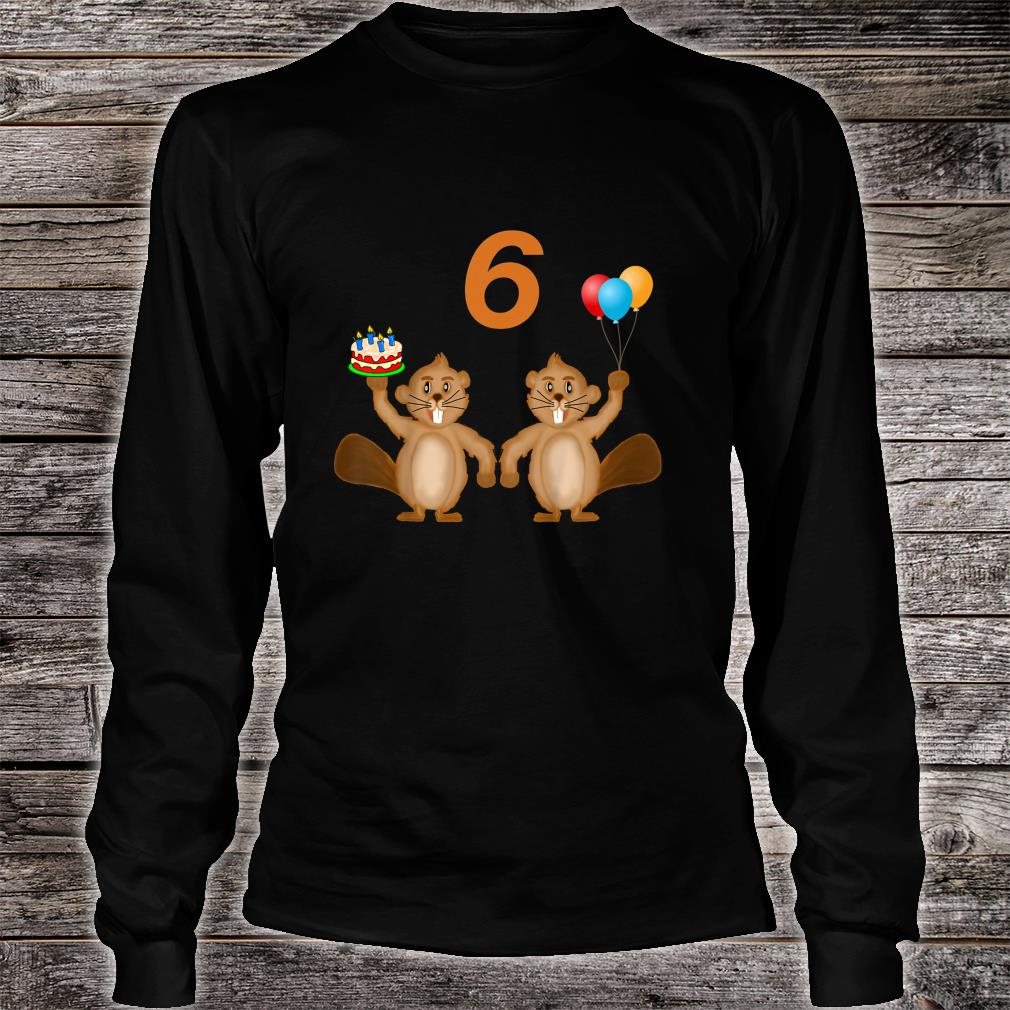 6 Years Old Shirt long sleeved