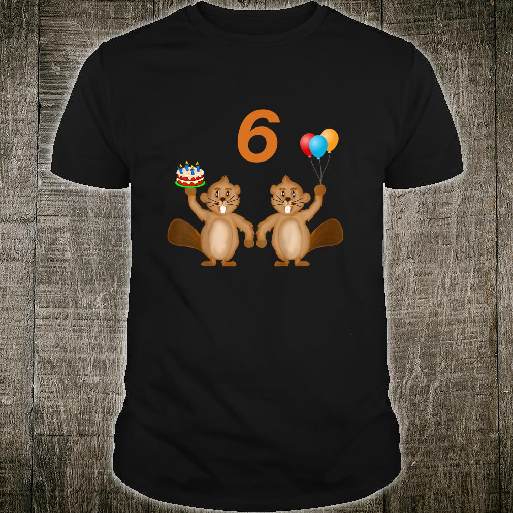 6 Years Old Shirt
