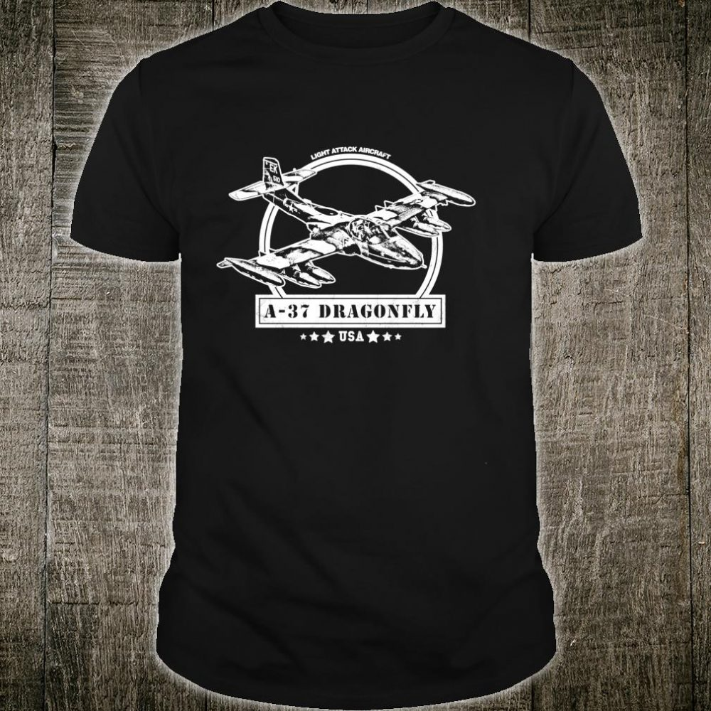 A37 Dragonfly Aircraft Shirt