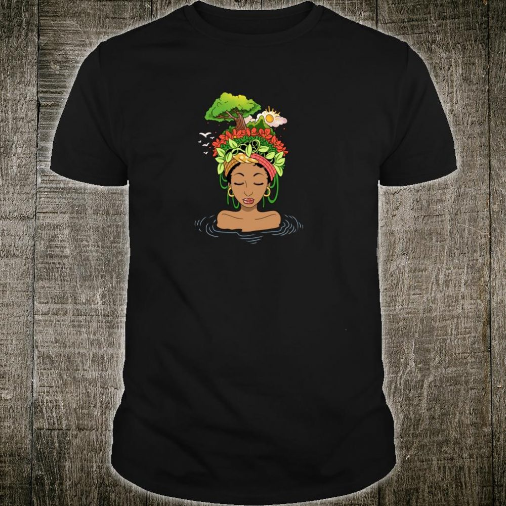 African American Black Nature And Afro Art Shirt