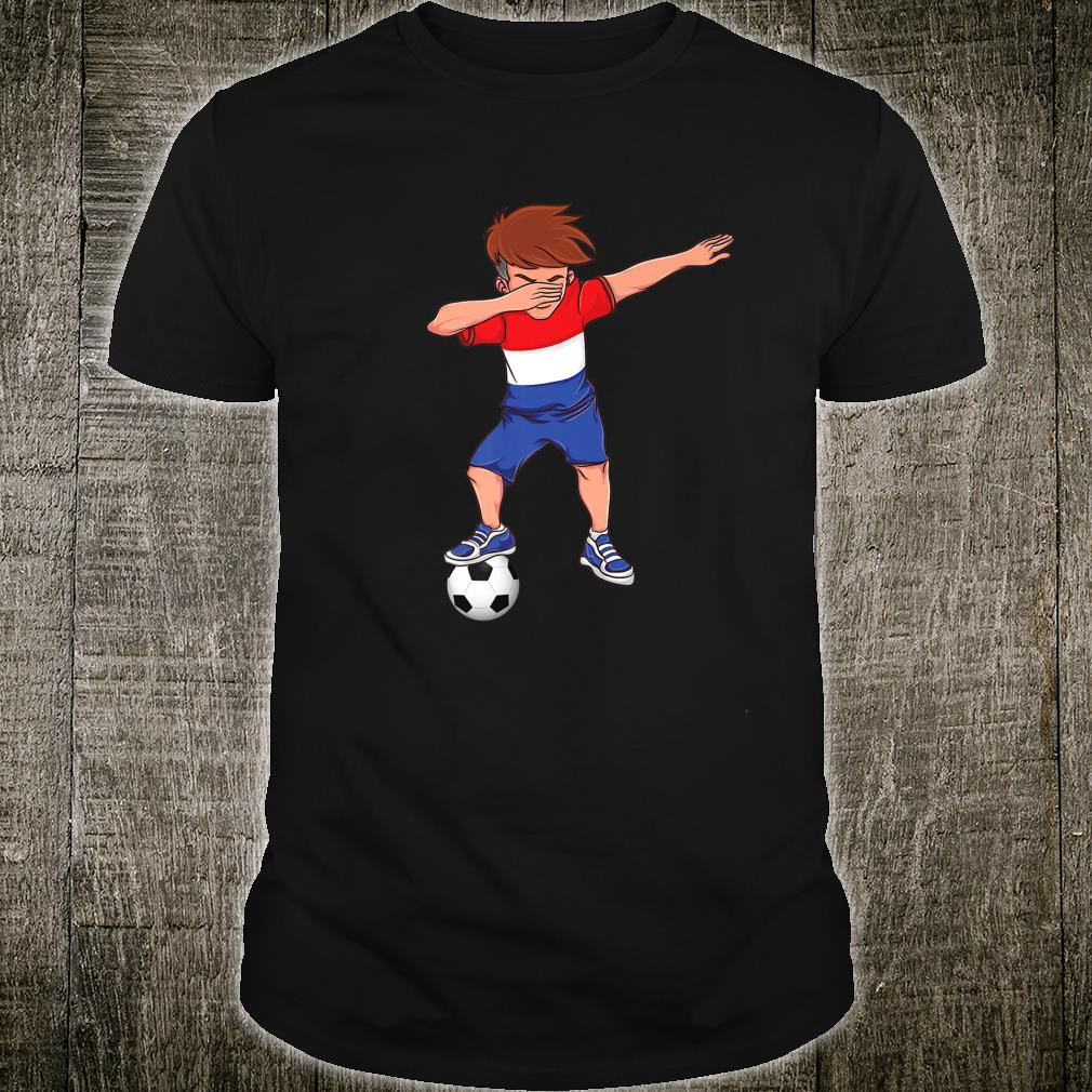 Amsterdam Dabbing Soccer Dutch Flag Football Hup Holland Shirt