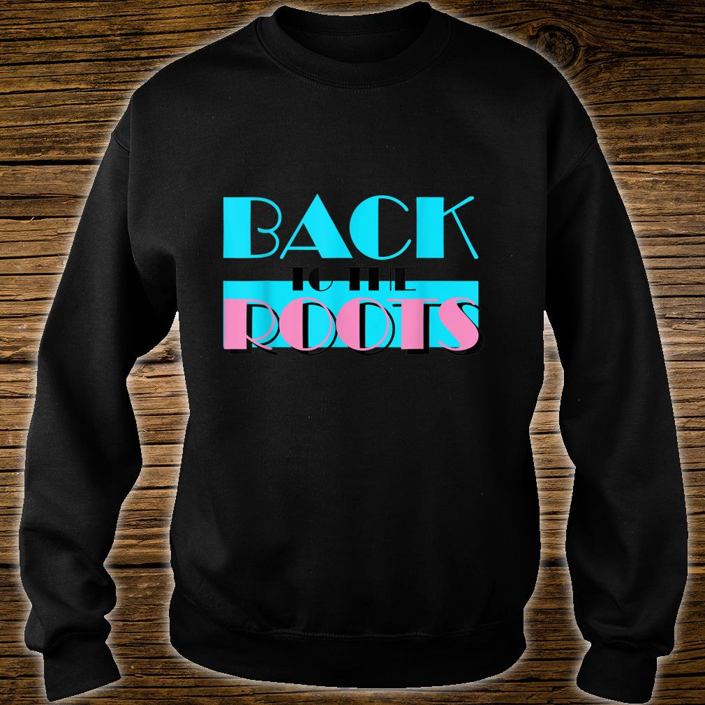 Back to the Roots Miami Vice Style Retro 80´s 90´s Shirt sweater