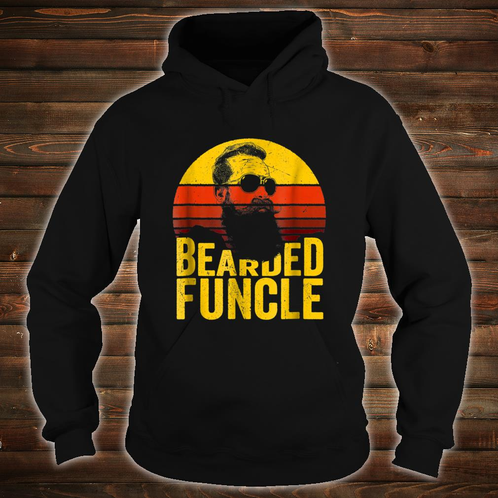 Bearded Funcle Shirt Uncle Sunset Shirt hoodie