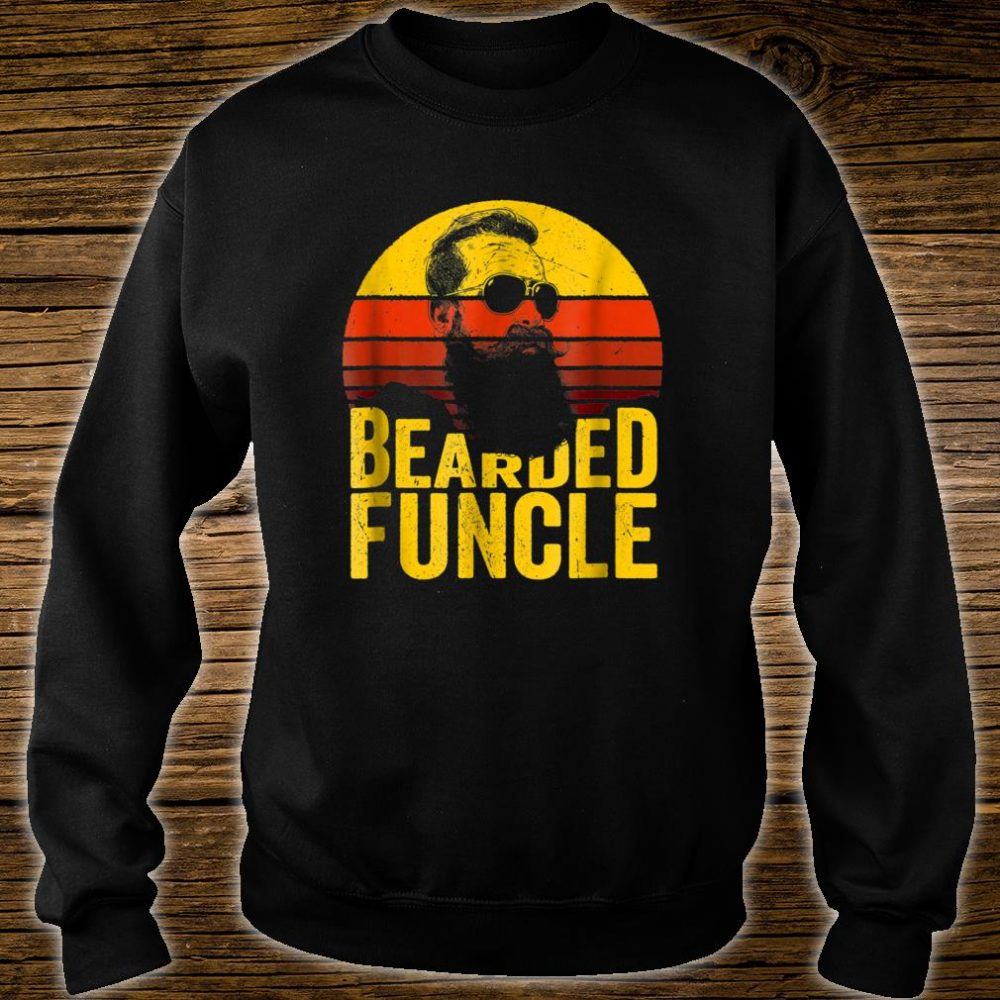 Bearded Funcle Shirt Uncle Sunset Shirt sweater
