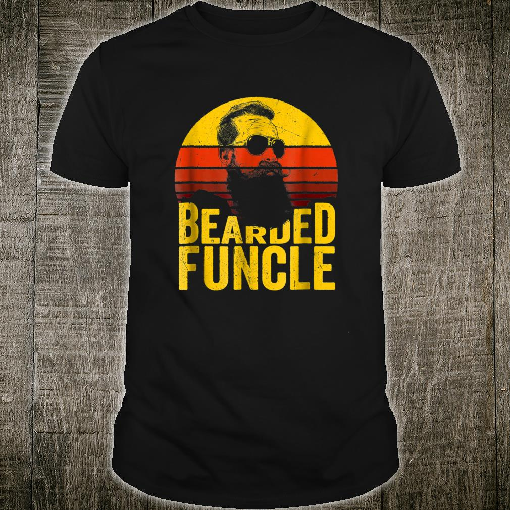 Bearded Funcle Shirt Uncle Sunset Shirt