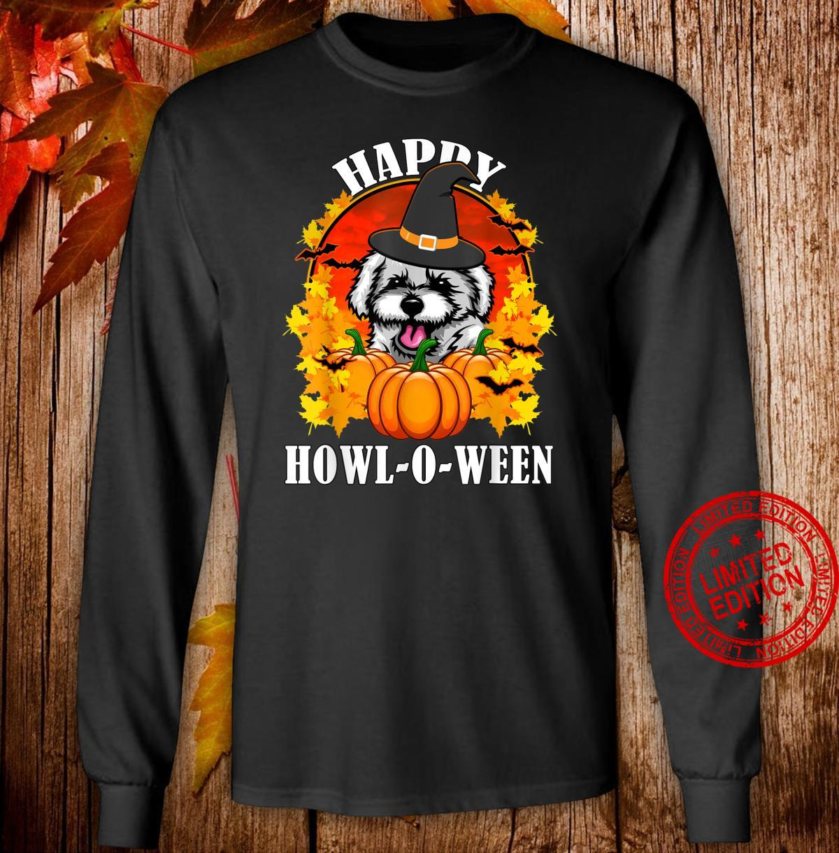 Bichon Frise Halloween For Dogs,,, Shirt long sleeved