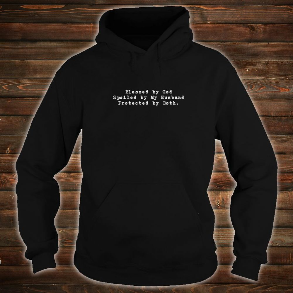 Blessed By God Christian Christmas Ideas Shirt hoodie