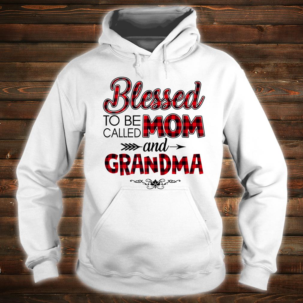 Blessed To Be Called Mom And Grandma Caro Christmas Shirt hoodie