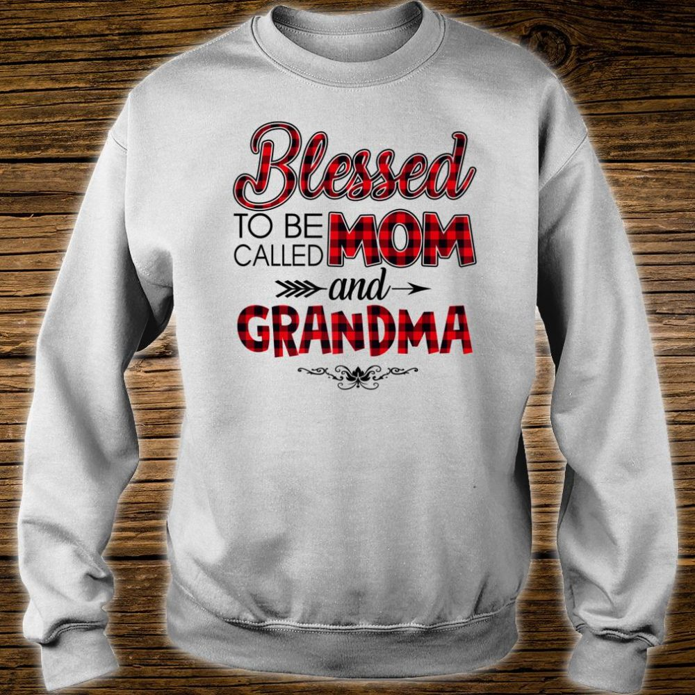 Blessed To Be Called Mom And Grandma Caro Christmas Shirt sweater