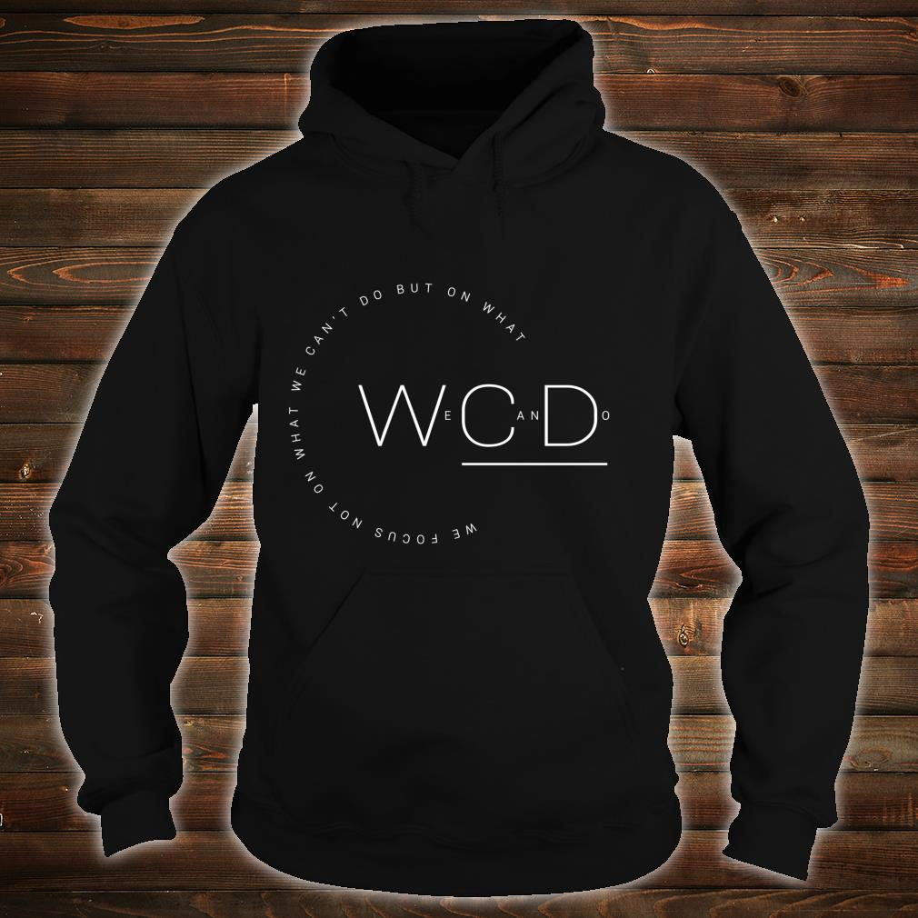 'But On What We Can Do' Autism Awareness Shirt hoodie