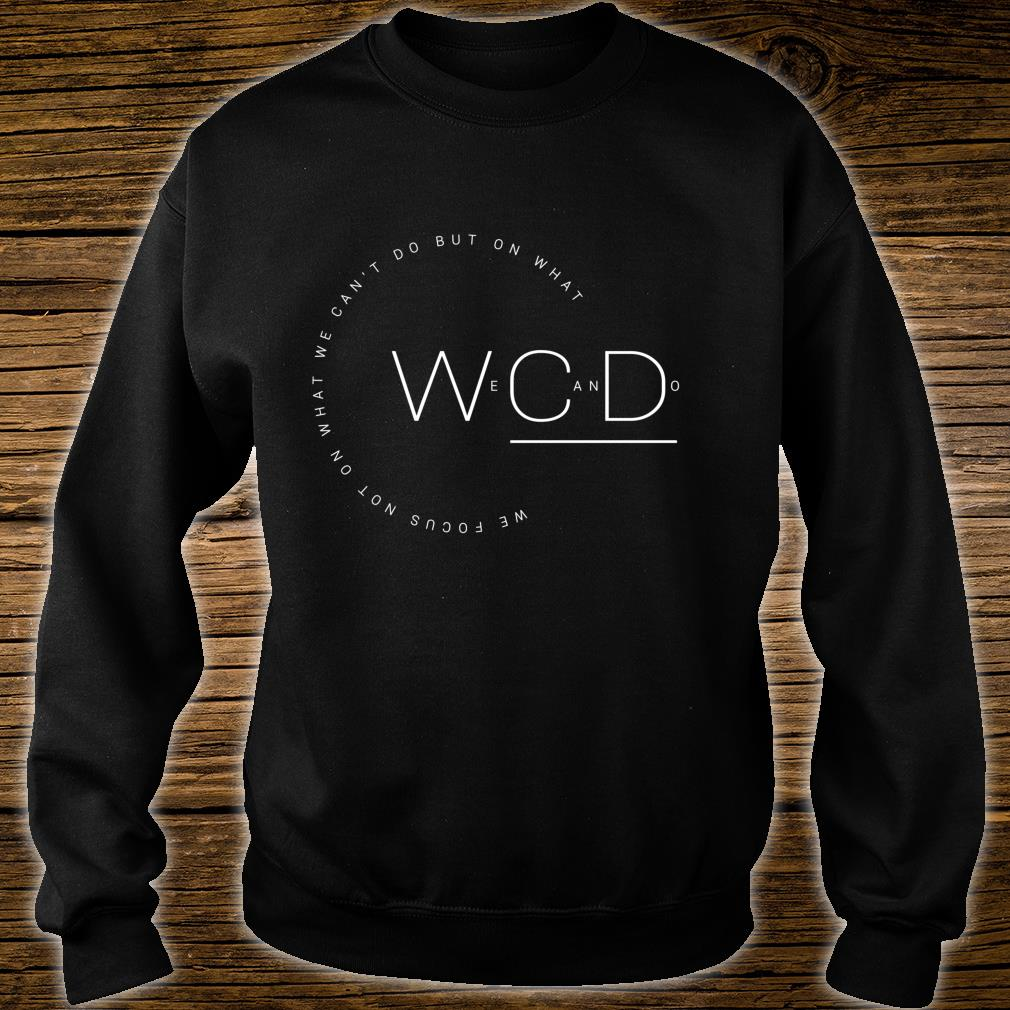 'But On What We Can Do' Autism Awareness Shirt sweater