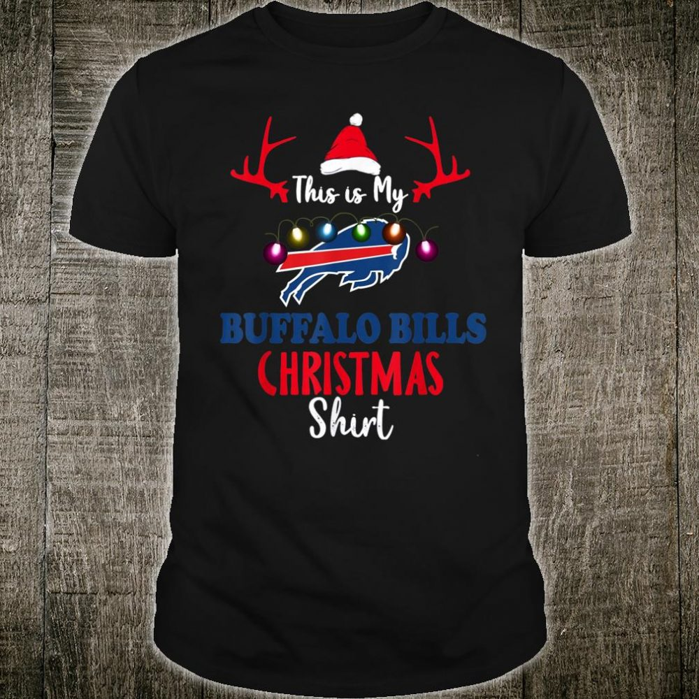 Christmas This Is My Team Football BuffaloBill Fan Shirt
