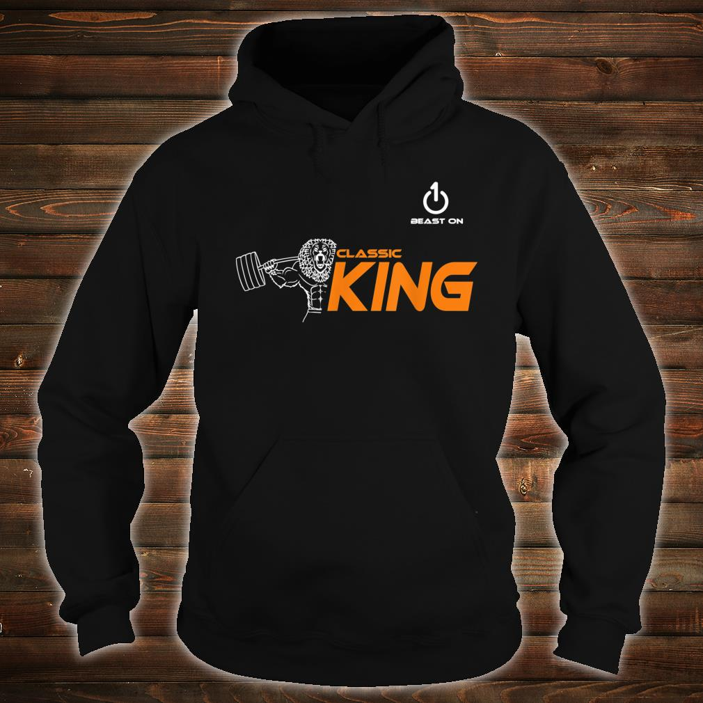 Classic King Lion Fitness Gym Krafttraining sport muscle Shirt hoodie