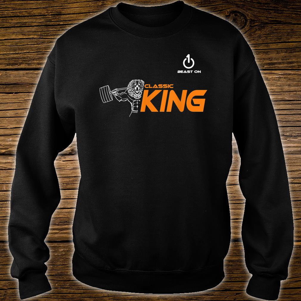 Classic King Lion Fitness Gym Krafttraining sport muscle Shirt sweater