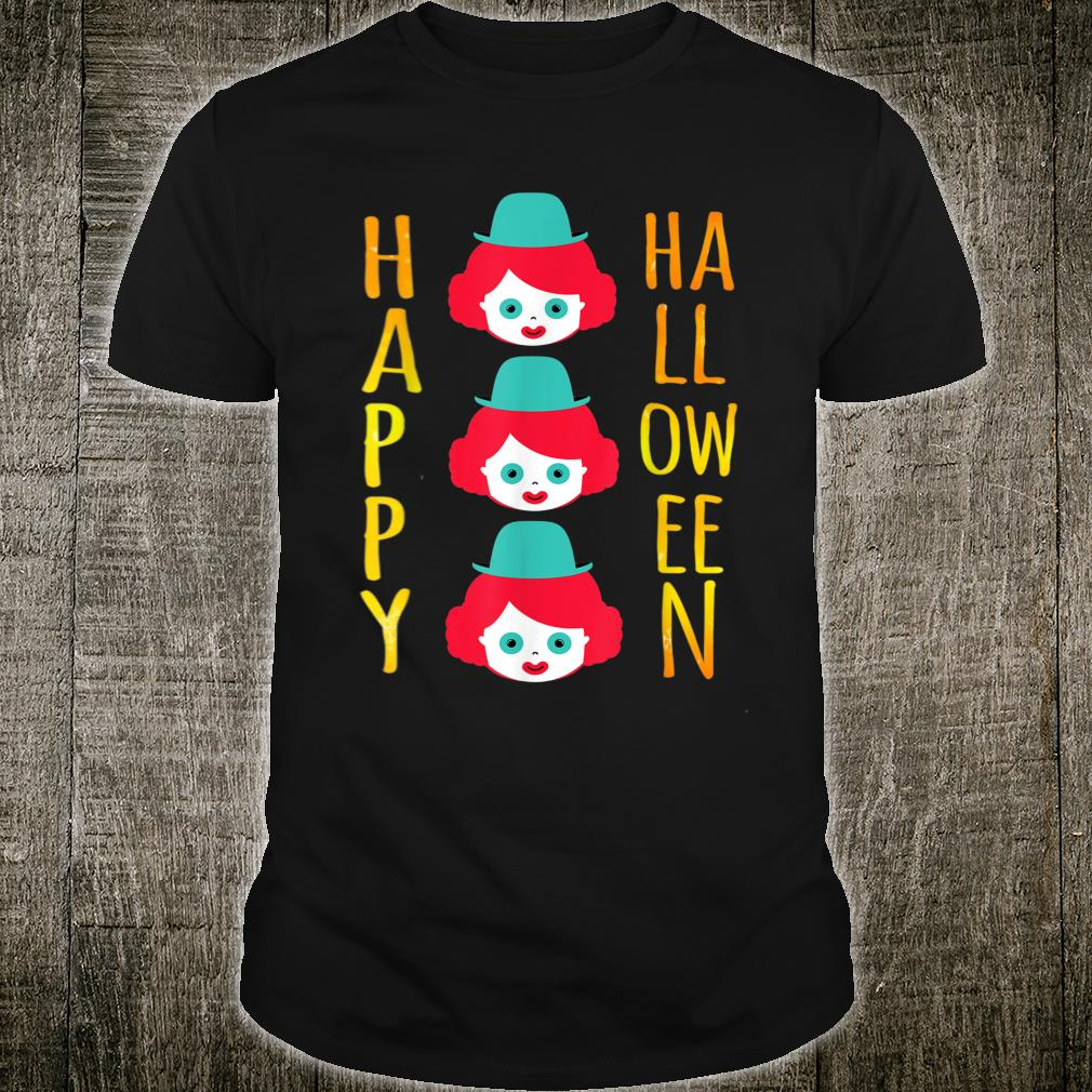 Clown Happy Halloween Shirt