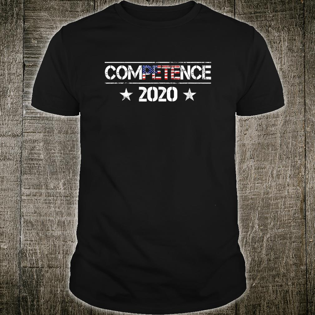 ComPETEnce 2020 Pete Buttigieg US 46th President Election Shirt