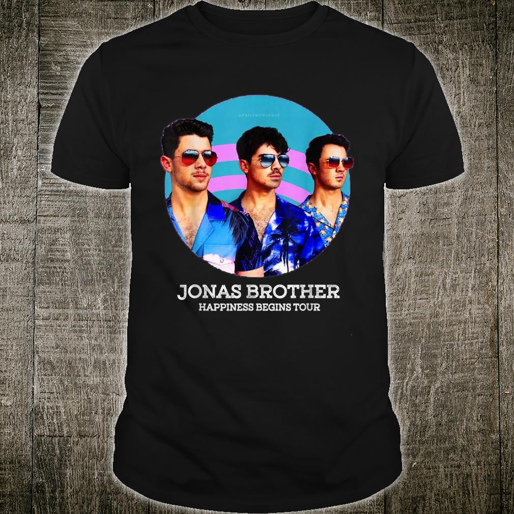 Cool Jonas Happiness beging tour Shirt