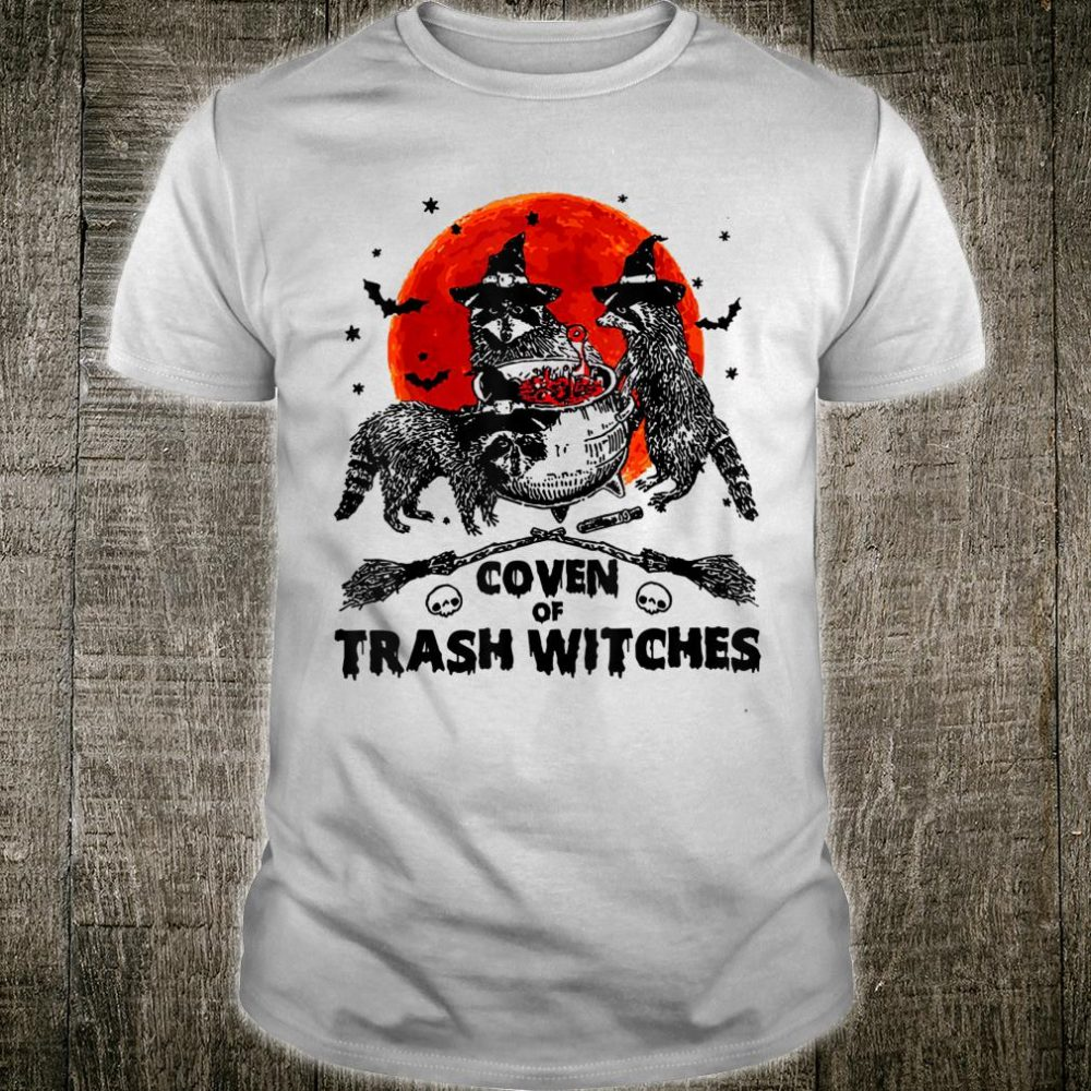 Coven Of Trash Witches Halloween Scary Spooky Shirt
