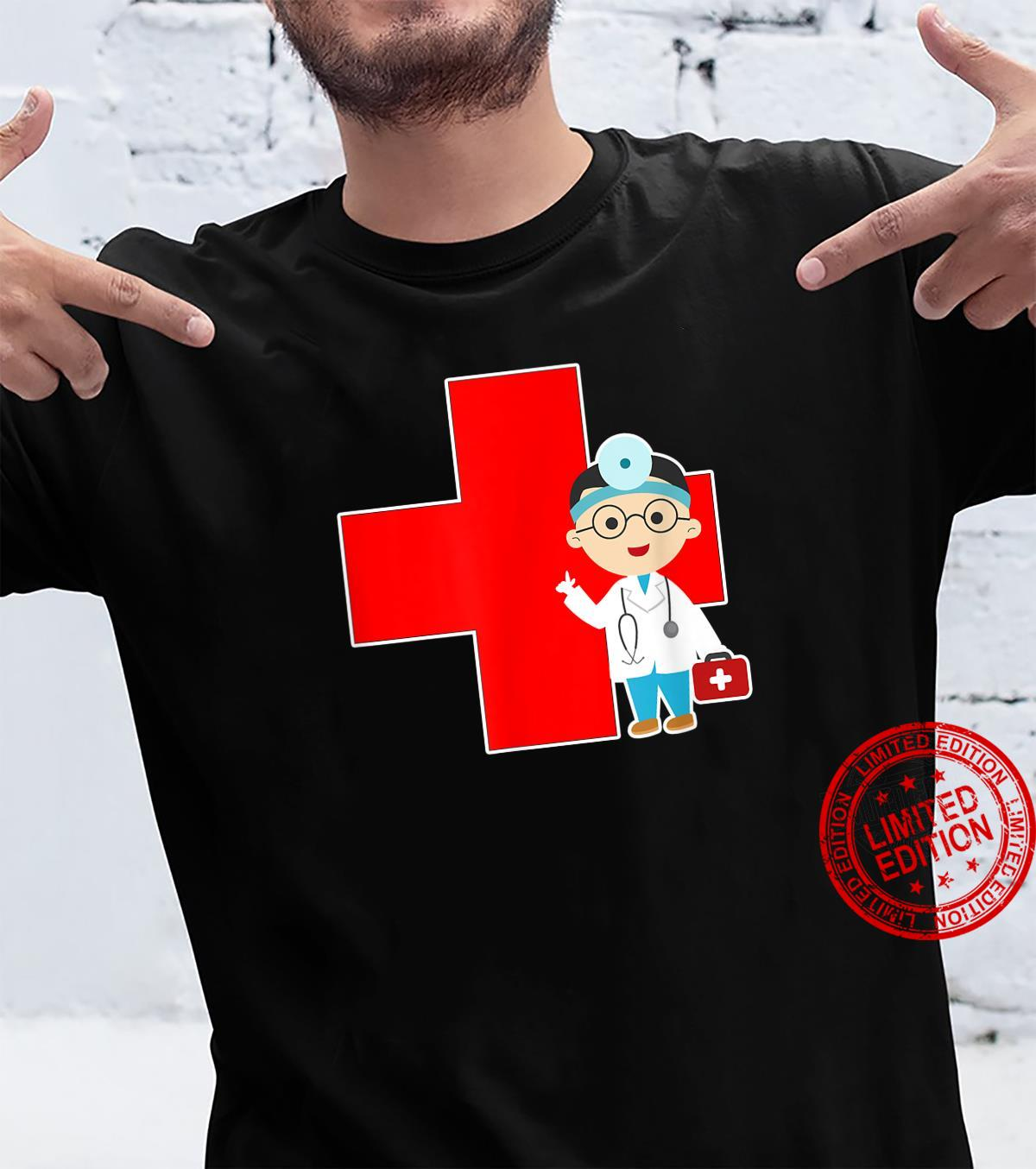 Cross Doctor Design for People Working in Hospital Shirt
