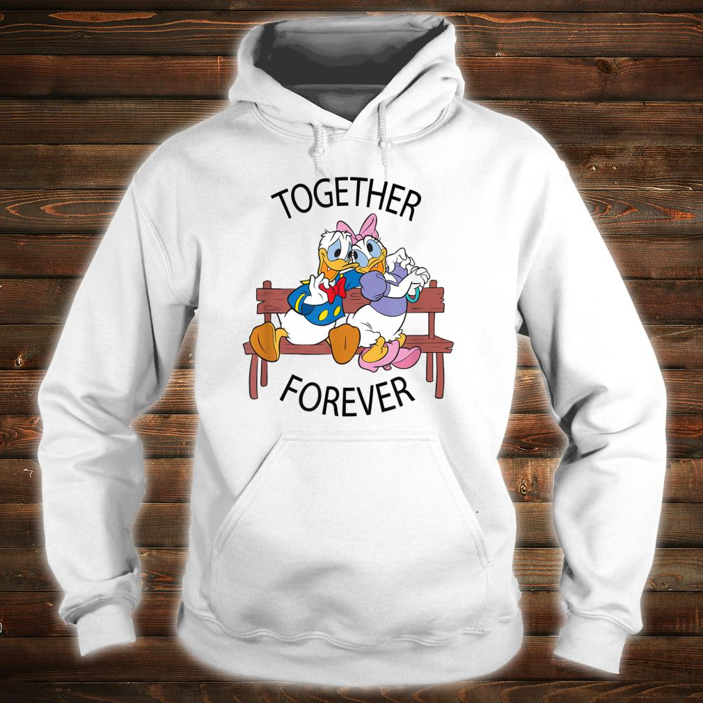 Disney Donald and Daisy Together Forever Shirt hoodie