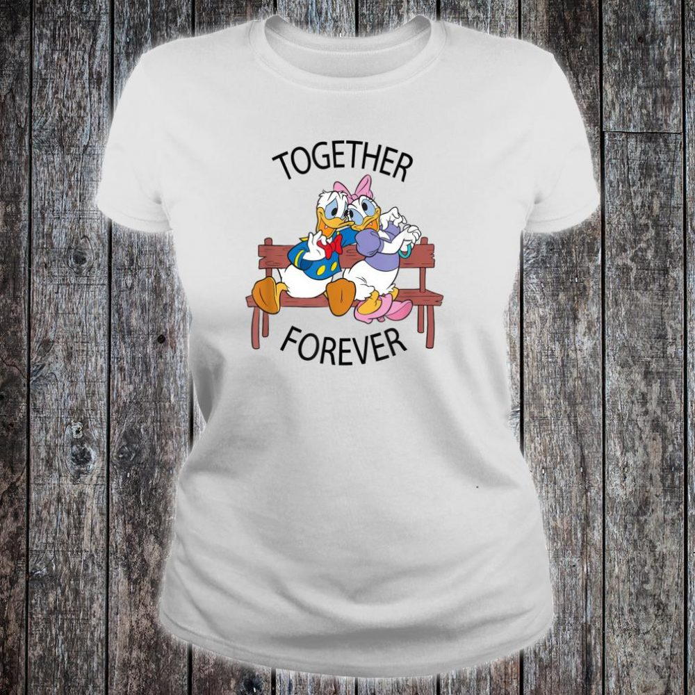 Disney Donald and Daisy Together Forever Shirt ladies tee