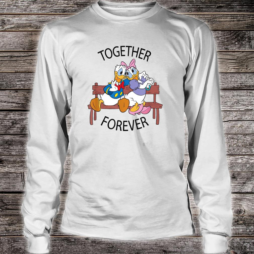 Disney Donald and Daisy Together Forever Shirt long sleeved