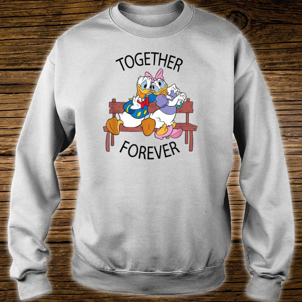 Disney Donald and Daisy Together Forever Shirt sweater