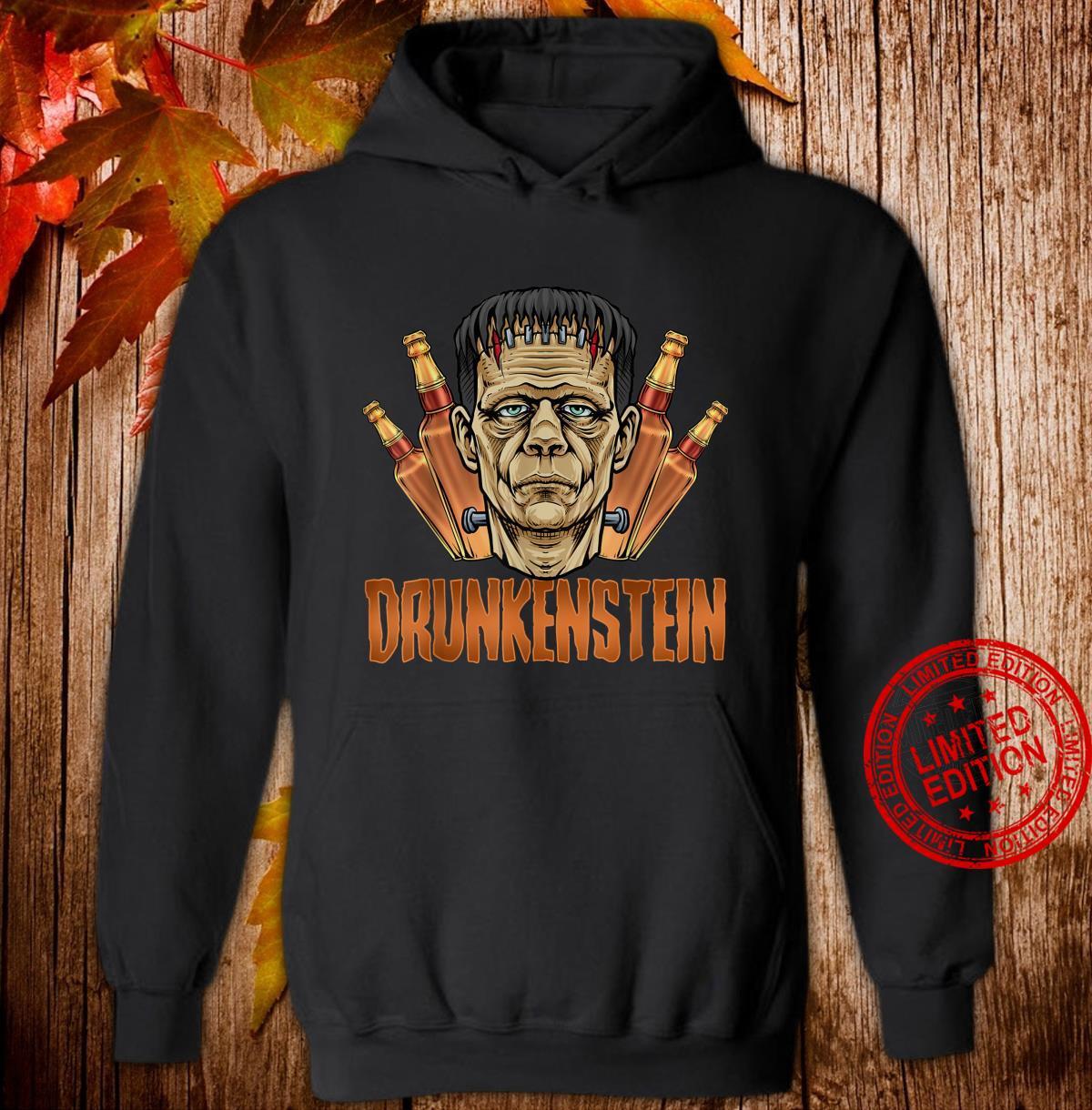 Drunkenstein Halloween Frankenstein Monster Shirt hoodie